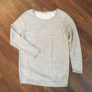 Athleta | Gray Sweatshirt Size Small